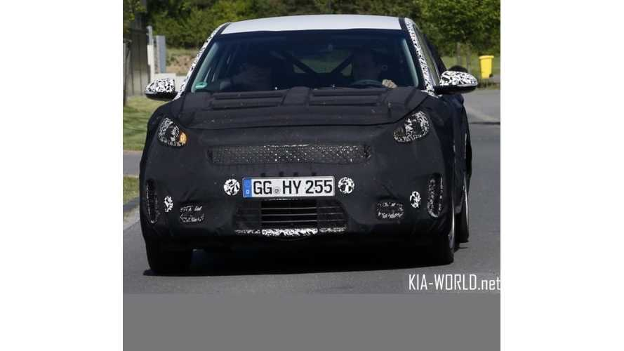 Kia Crossover Spotted, Will Come With Plug-In Option