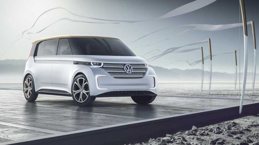 Volkswagen BUDD-e Microbus With 101 kWh Battery Revealed At CES