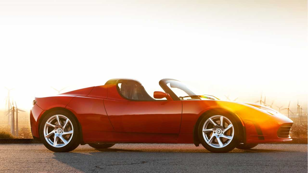 Tesla's Roadster. There is one we don't normally see/hear of