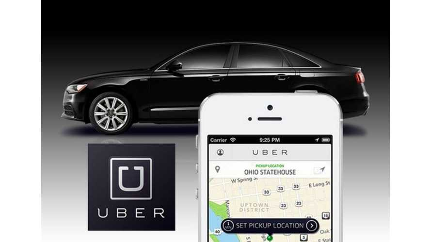 Own A Tesla Model S?  Drive For Uber And Make 70 Cents Per Mile