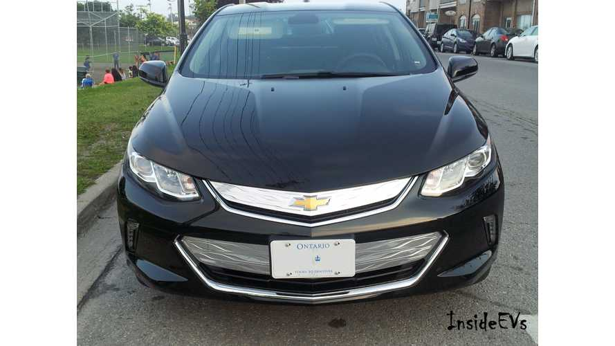 Canada Still Gets 2016 Model Year Chevrolet Volt - Arrives In November