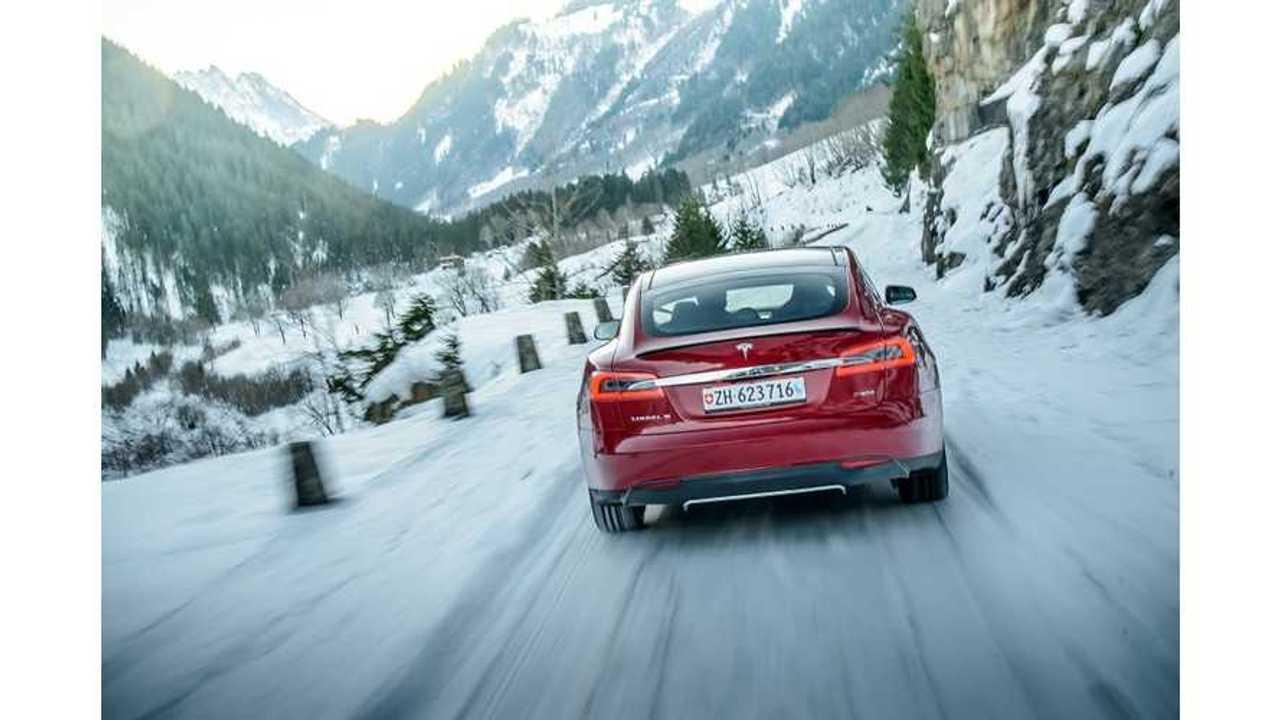 Tesla Model S Is Switzerland's 4th Best-Selling Segment E Premium Car