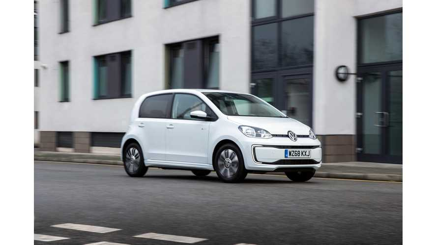 Volkswagen e-up! Price Cut Reaches UK: Interior Gets Extra Flair