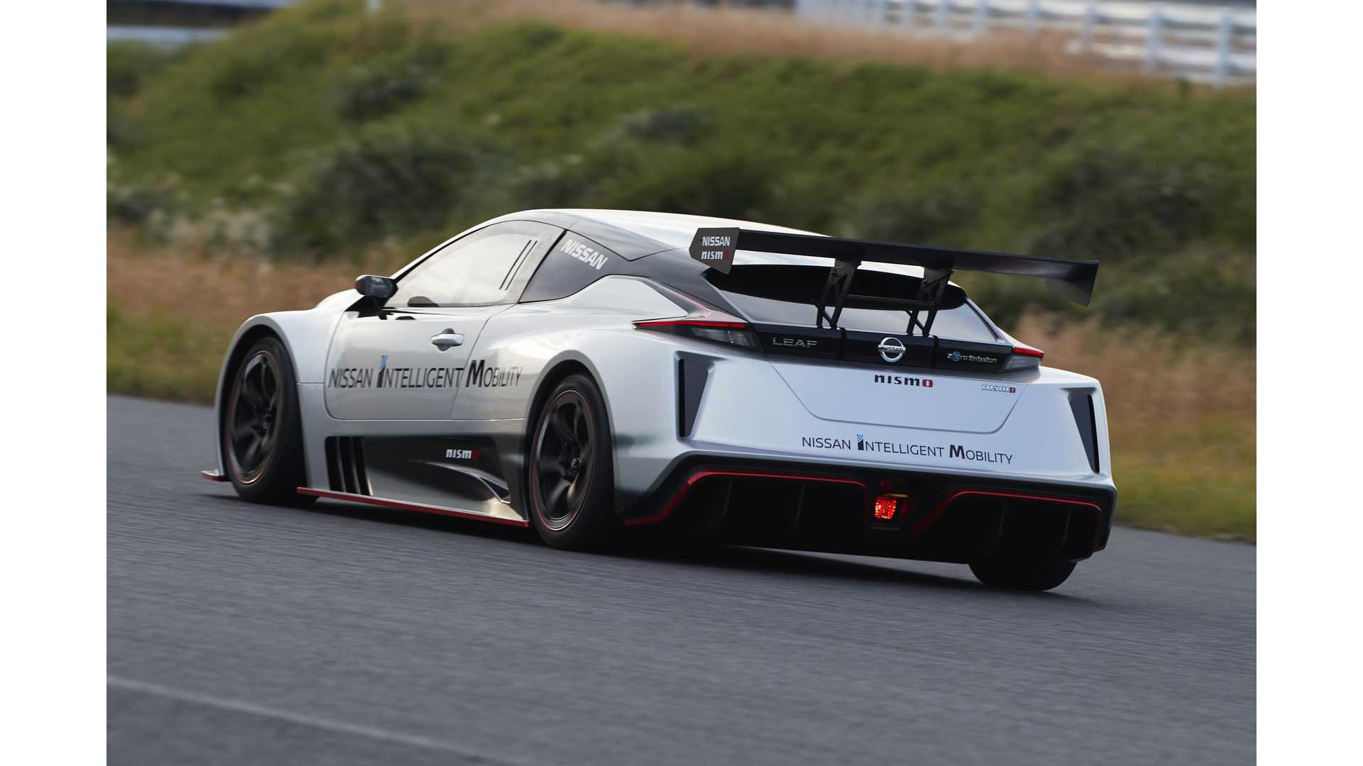 Nissan Debuts New More Powerful Leaf Nismo Rc