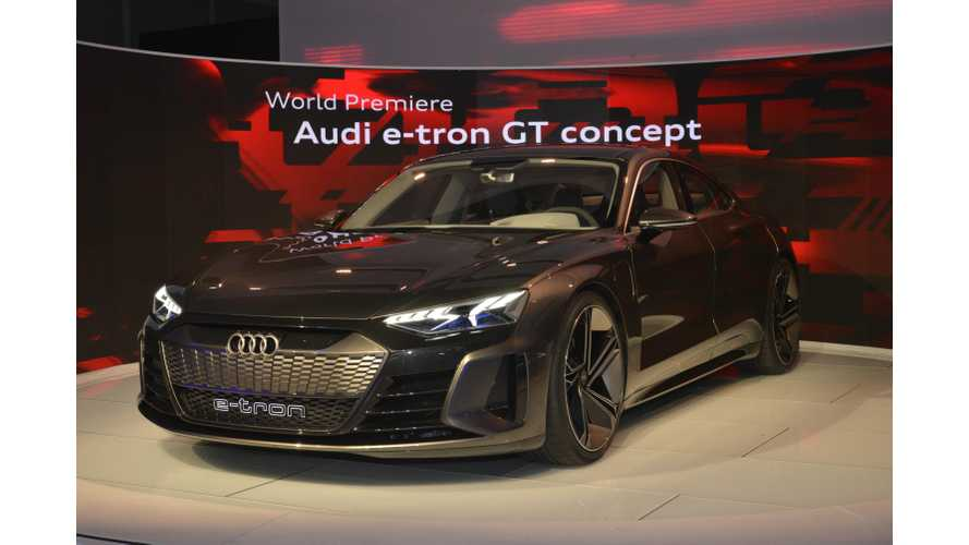 Audi e-tron GT Stuns At LA Motor Show: Images + Videos