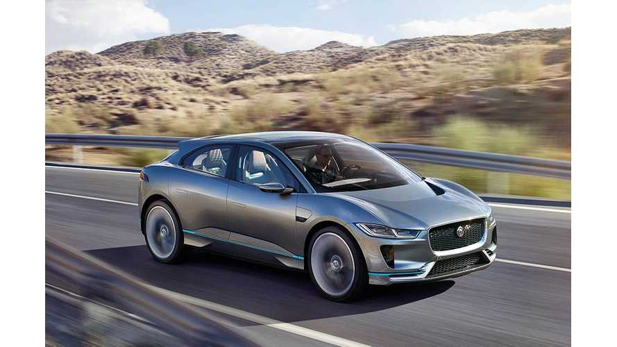Jaguar i-Pace: 220+ Mile All-Electric i-Pace SUV To Arrive in 2018