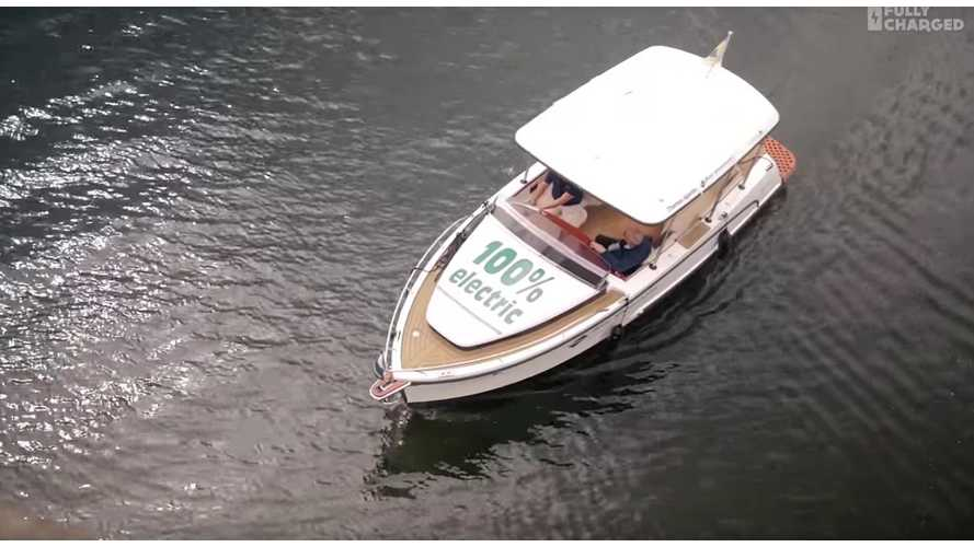 Electric Boat From Boat Showrooms Featured On Fully Charged (video)