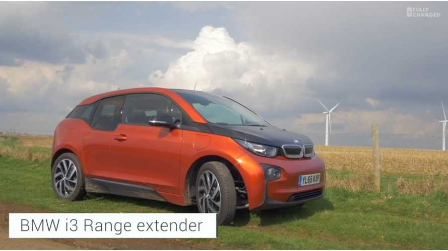 A Longer Look At The BMW i3 REx - Fully Charged (video)