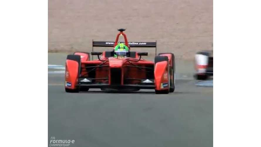 "Formula E Releases ""Best Moments of 2014"" Video"
