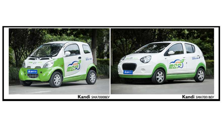 Kandi Delivered 1,000 Electric Cars To Chengdu and 700 To Guangzhou
