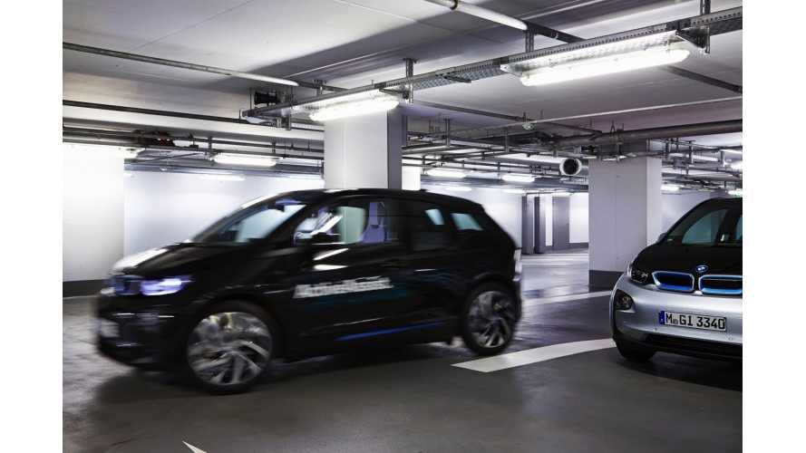 BMW i3 To Park Itself At CES 2015 - 360-Degree Collision Avoidance To Be Demonstrated