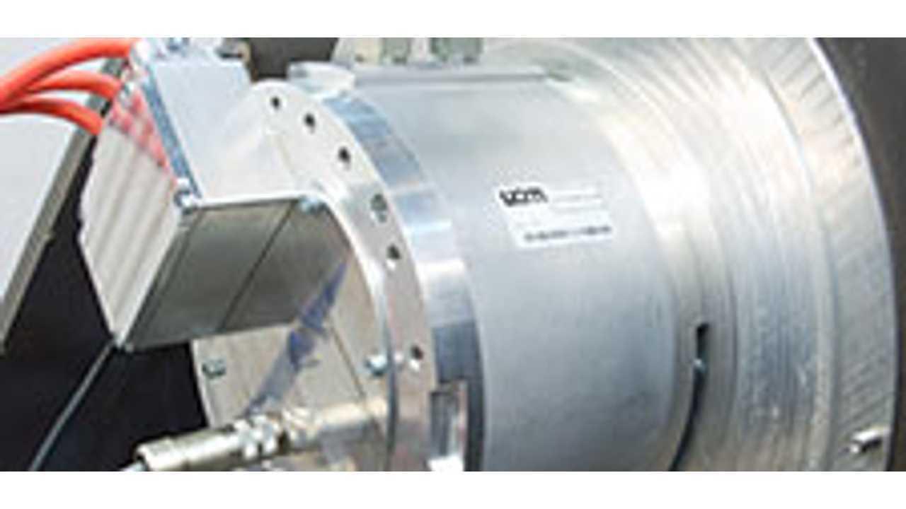 UQM Non-Rare Earth Magnet Electric Motor
