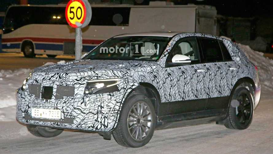 Mercedes EQ C Electric CUV Spied Testing