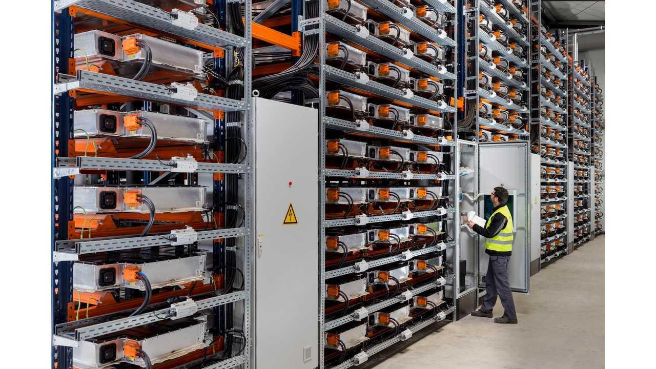 BMW Battery Storage Farm Leipzig