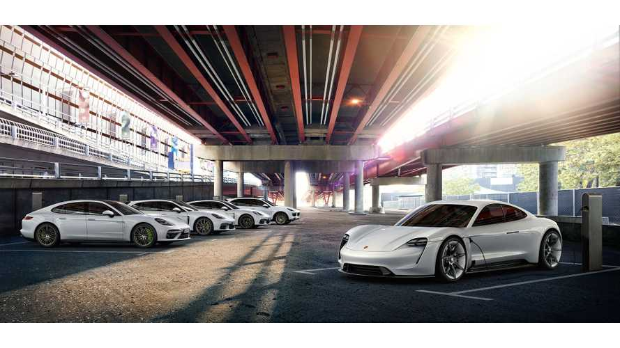 Porsche Doubles Financial Commitment To Electrification