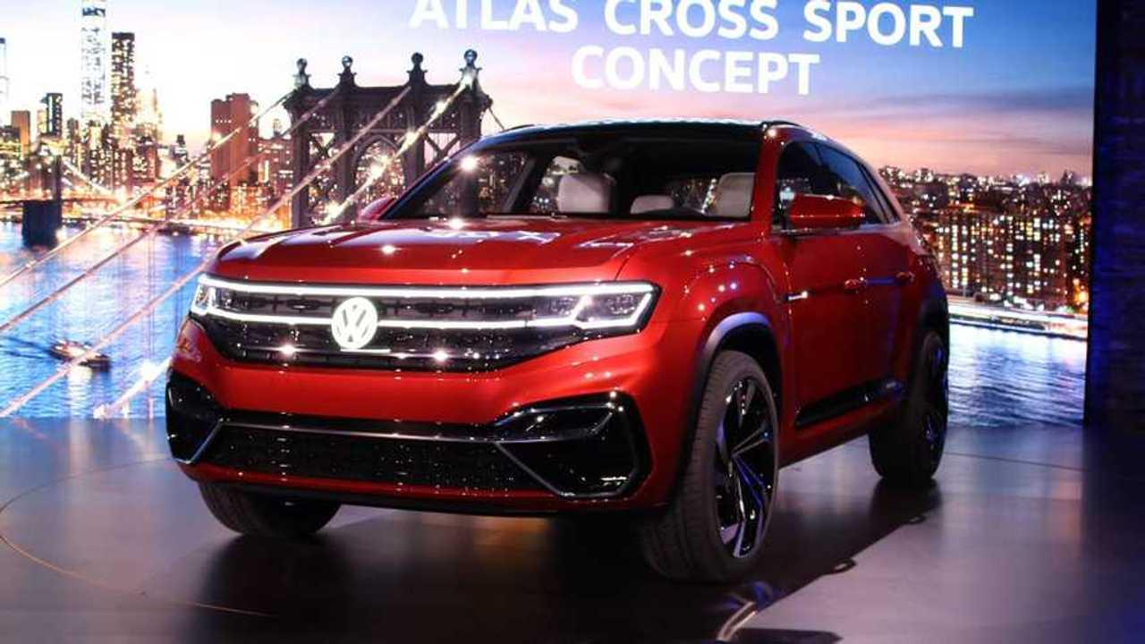 Volkswagen Reveals Atlas Cross Sport Plug-In Hybrid Concept