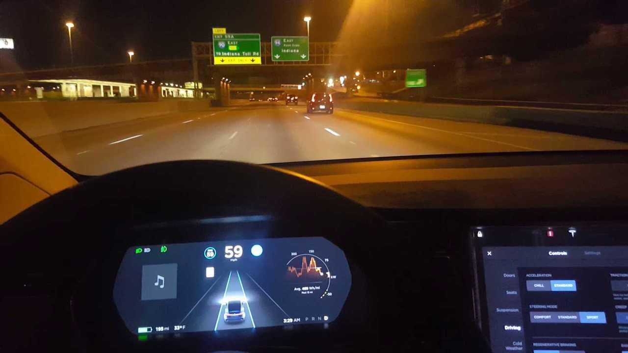 Watch Tesla Autopilot Again Attempt To Hit Off-Ramp Divider