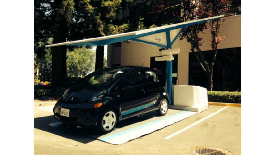 Google Gets Envision Solar EV ARC Charging Station