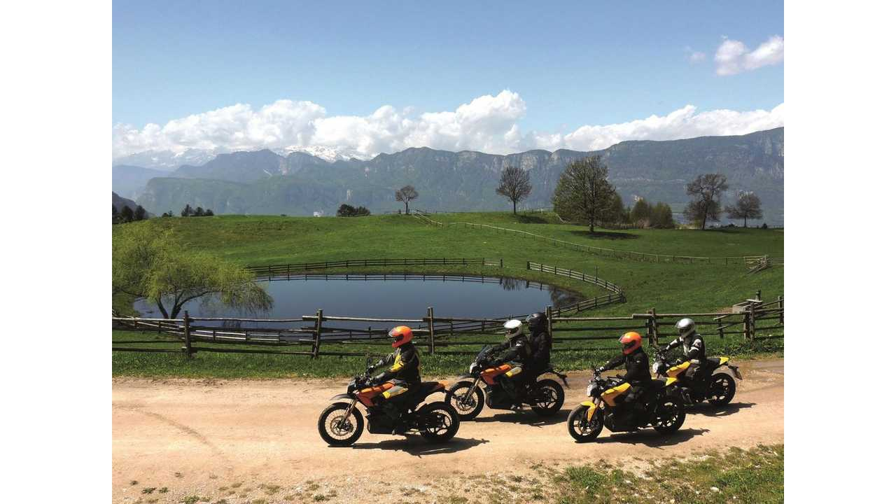 Edelweiss Goes Electric with Zero Motorcycles in Austria