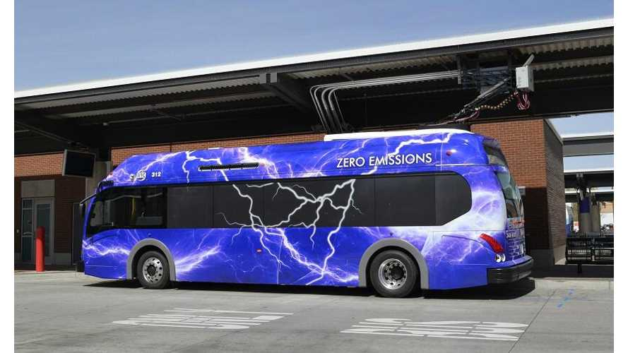 Reno, Nevada Gets Four Proterra Buses With An Electrifying Appearance (w/video)
