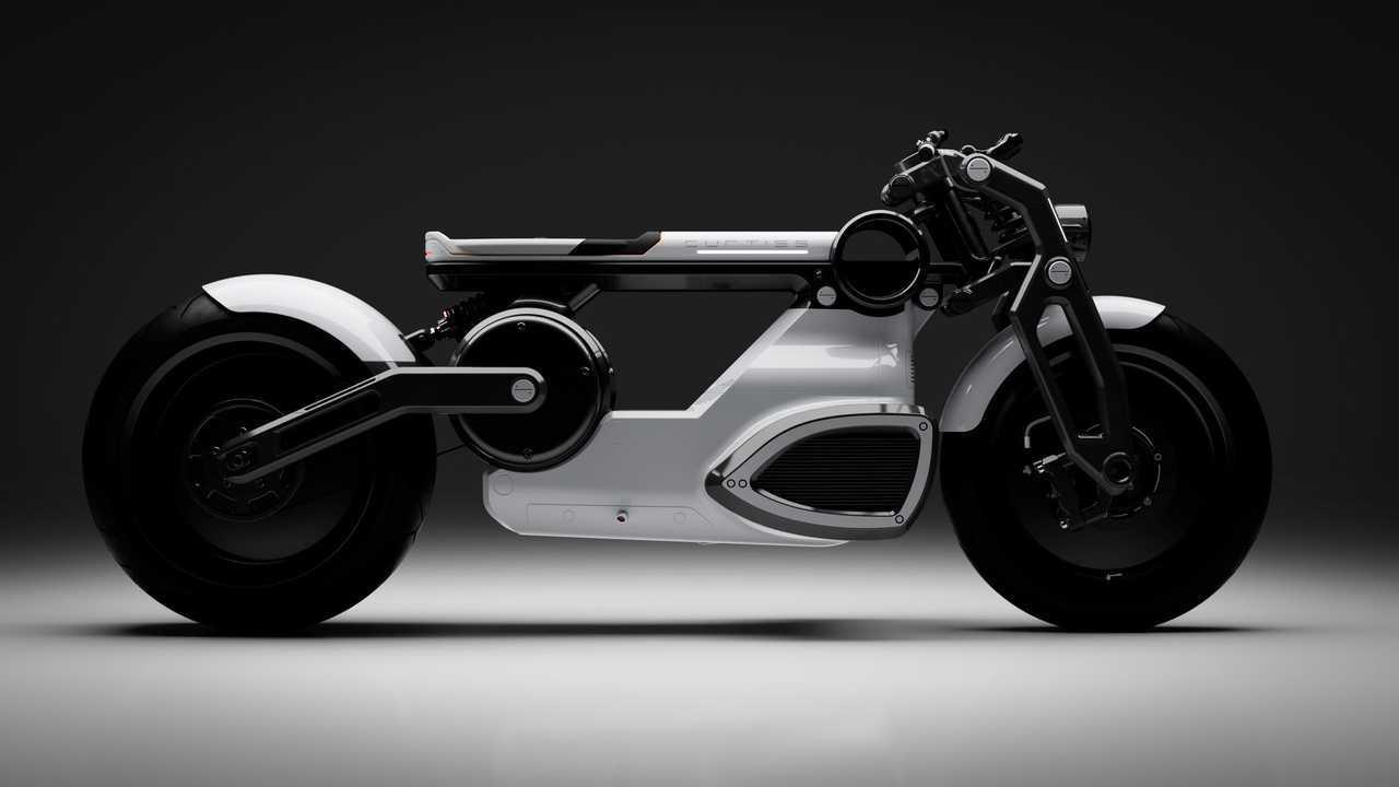 Curtiss Zeus Elektrikli Motosikleti (Cafe Racer Versiyonu)