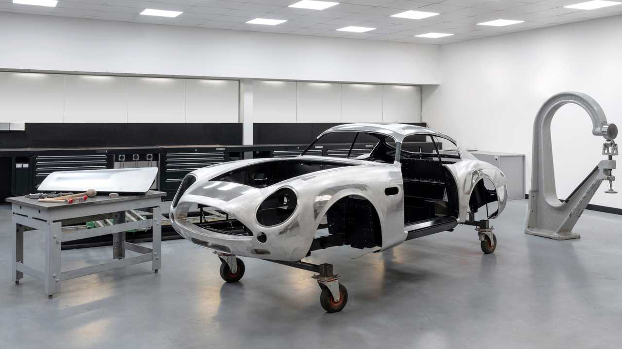 DB4 GT Zagato Continuation - Start of production