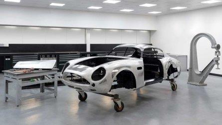 Los Aston Martin DB4 GT Zagato 'reactualizados' ya toman forma