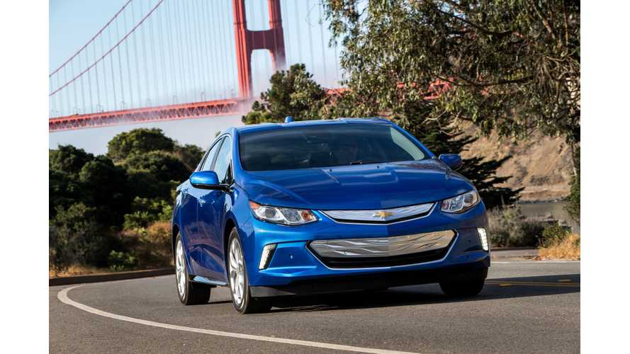Production Of Nationwide 2017 Chevrolet Volt Begins!