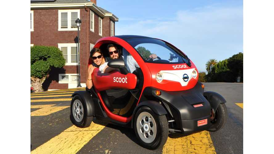 Nissan New Mobility Concept (aka Renault Twizy) Available To Rent In San Francisco