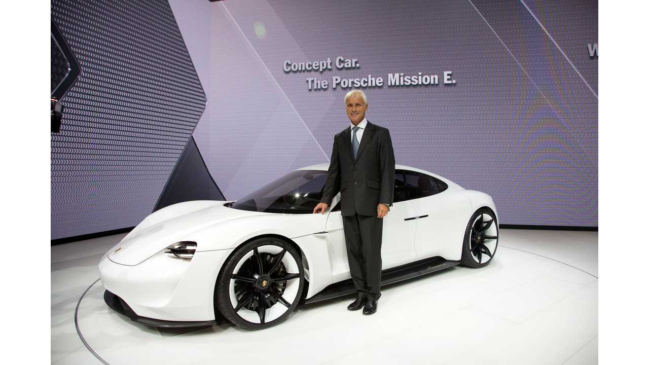 Porsche Mission E Gets Codename Of J1, Thus Fully Confirming It For Development
