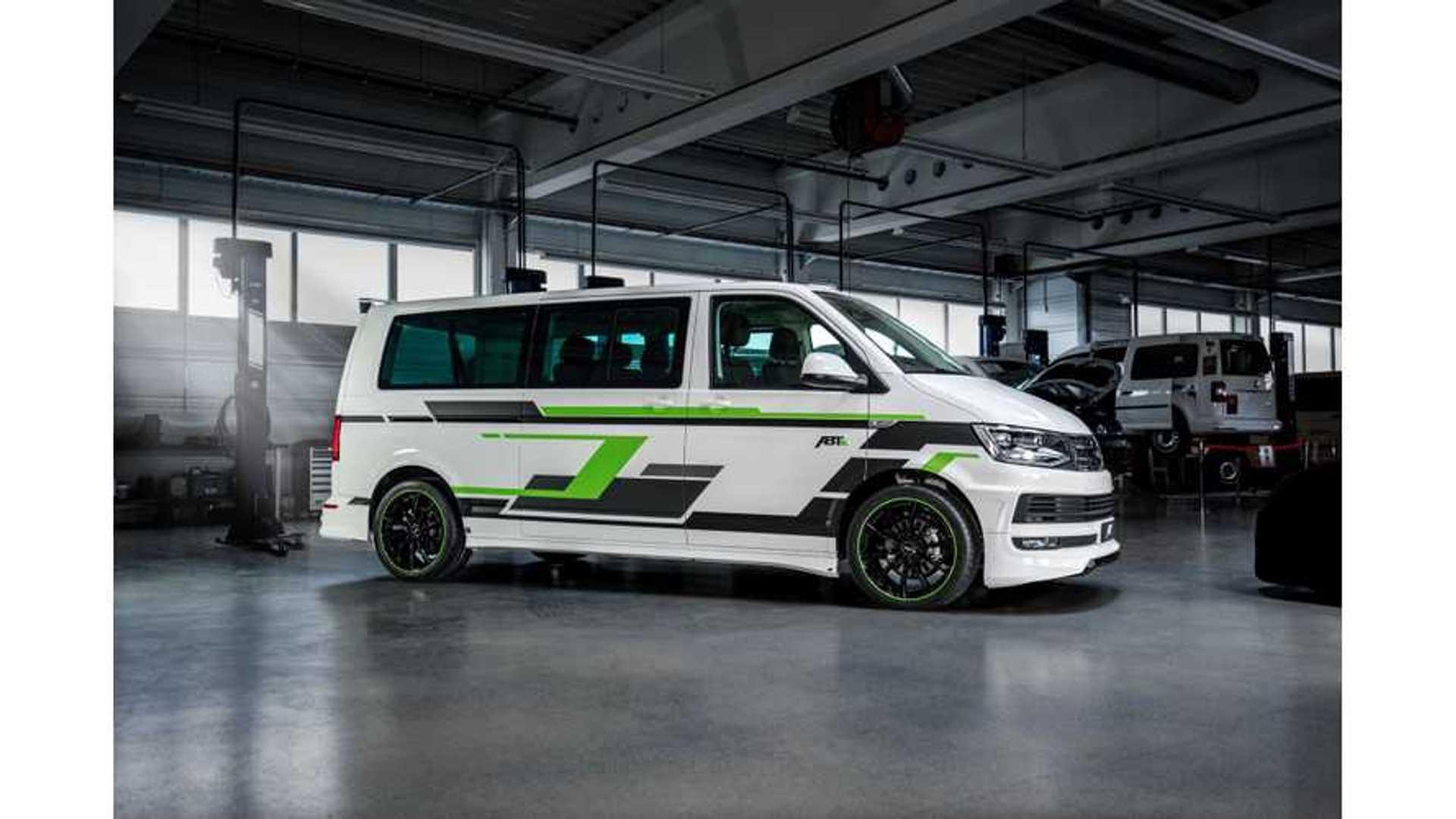Abt Vw E Transporter Tuned Electric Van Revealed