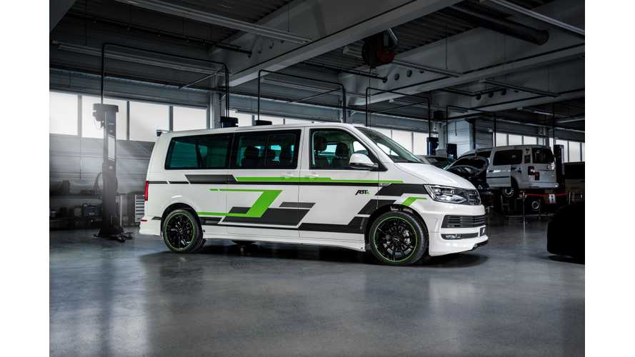 ABT VW e-Transporter Tuned Electric Van Revealed