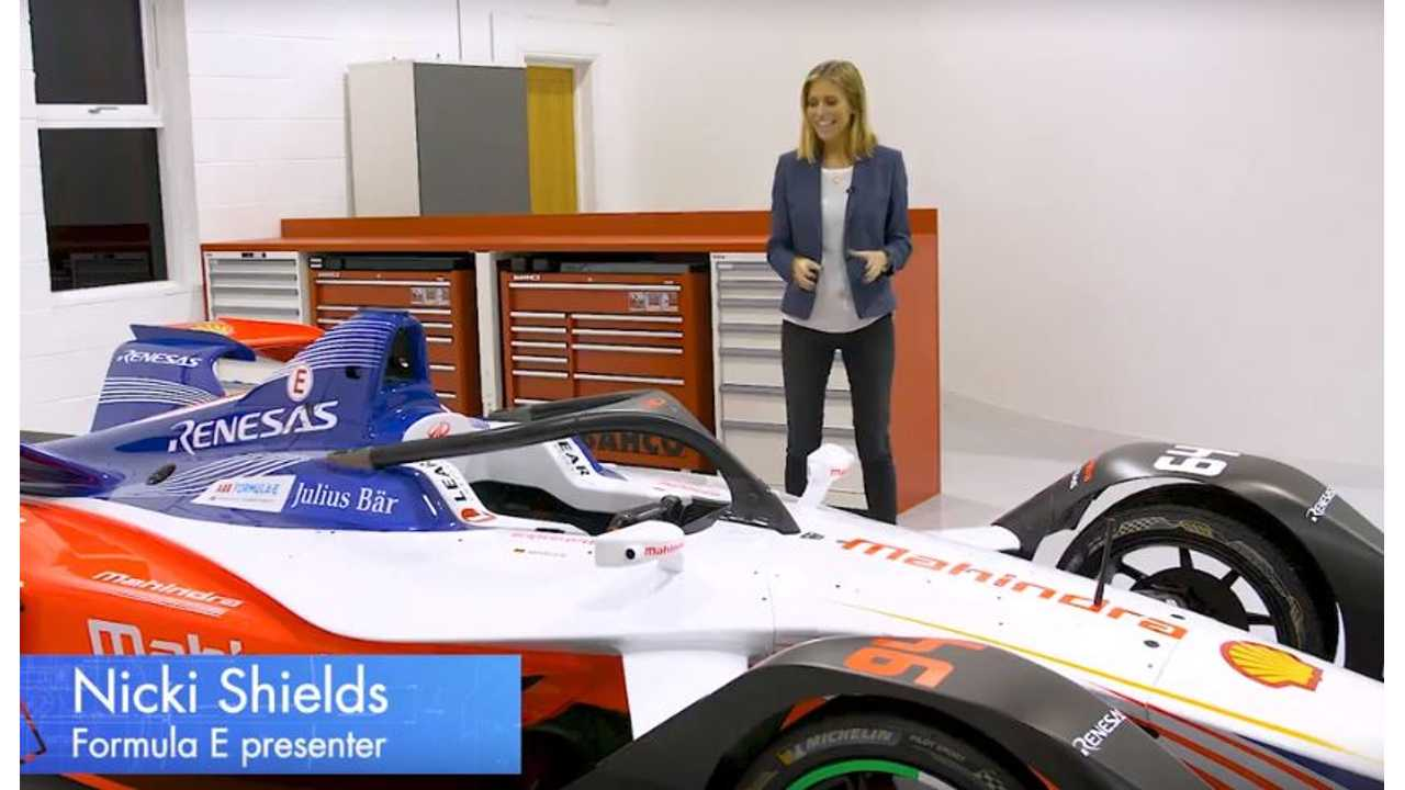 Let's See The New Formula E Gen 2 Battery: Video