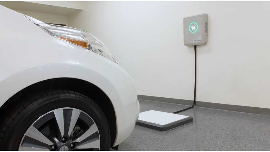 New Wireless Charging System Available for Chevrolet Volt and Nissan Leaf