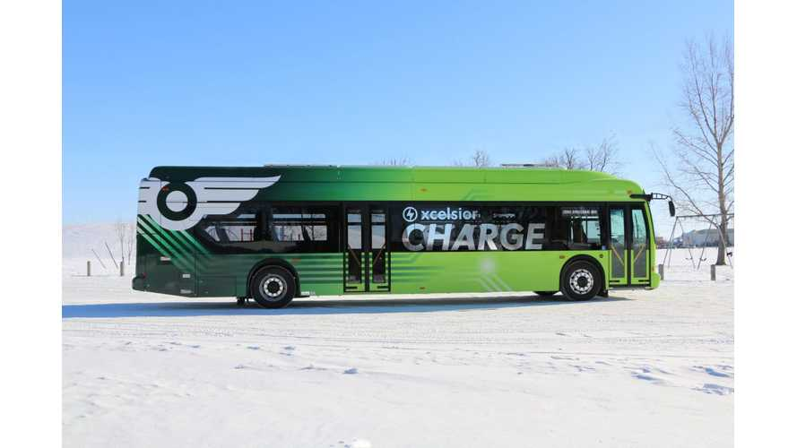 Toronto Has The Largest Fleet Of Electric Buses In North America