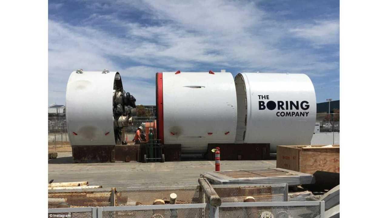 The Boring Company: Boring Machine Segments