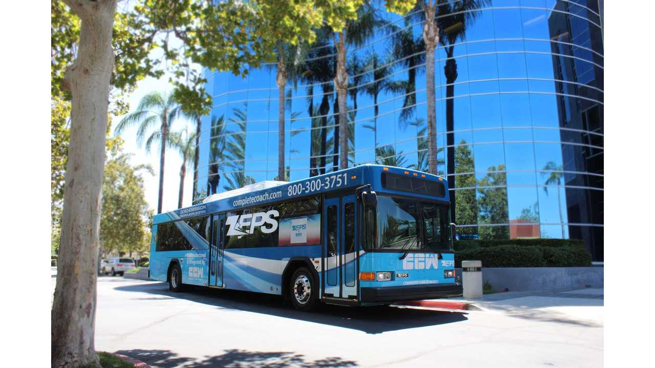 CCW Rebuilds Over 50 Diesel Buses To Electric, Offers 466 kWh Packs