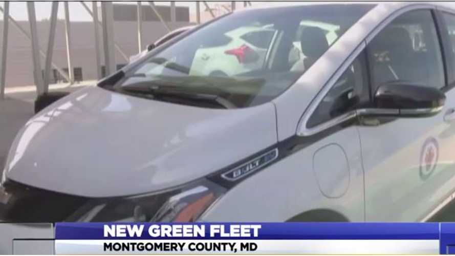 Montgomery County Gets Fleet Of 16 Chevrolet Bolts