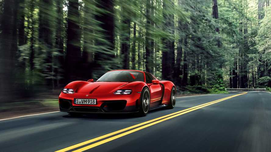 Next-Gen Porsche 918 Spyder Rendered
