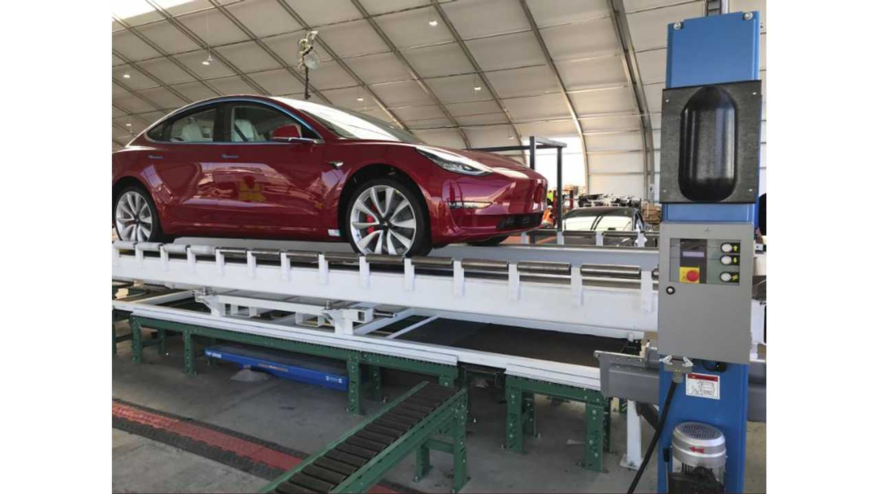 Tesla Model 3 Battery Has Power To Spare - Ludicrous Mode Anyone?