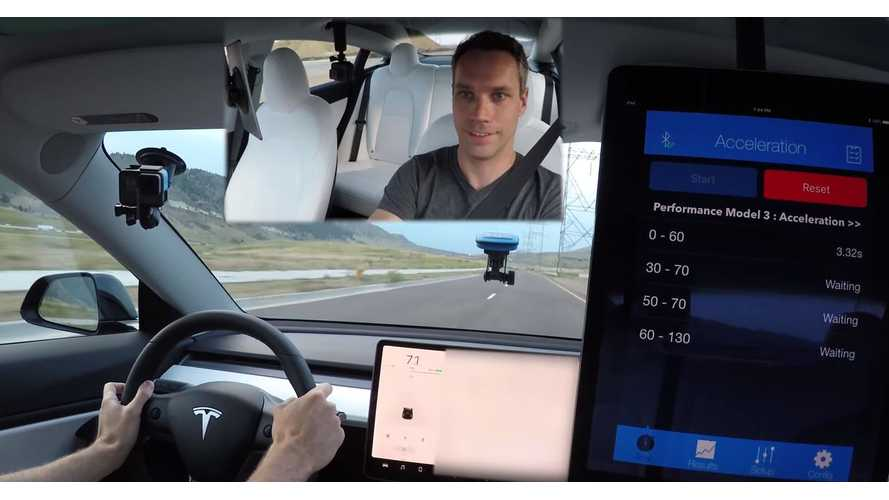 UPDATE: VBOX Results Put Tesla Model 3 Performance At 3.18 Seconds To 60 MPH