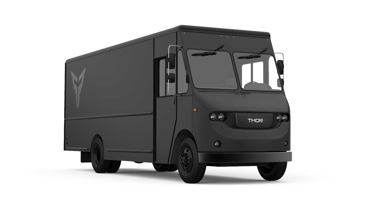 Thor Trucks - fully-electric class 6 delivery truck