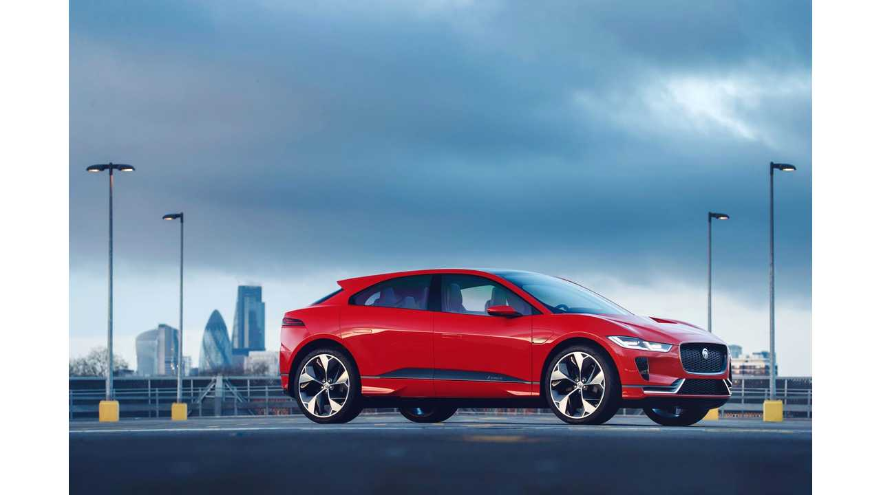 Jaguar I-PACE Concept in Photon Red To Debut At Geneva Motor Show