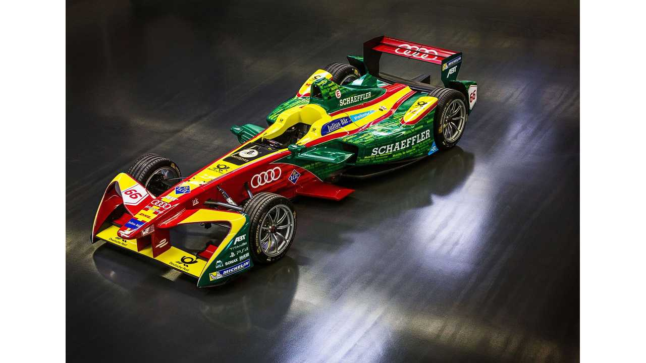 Audi Getting Ready For Formula E Changeover With Clever Video