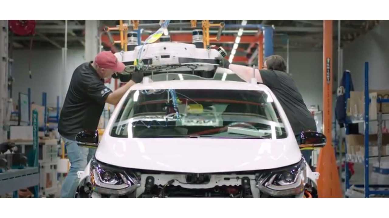 Watch As The Self-Driving Chevrolet Bolt Is Built Before Your Eyes - Video