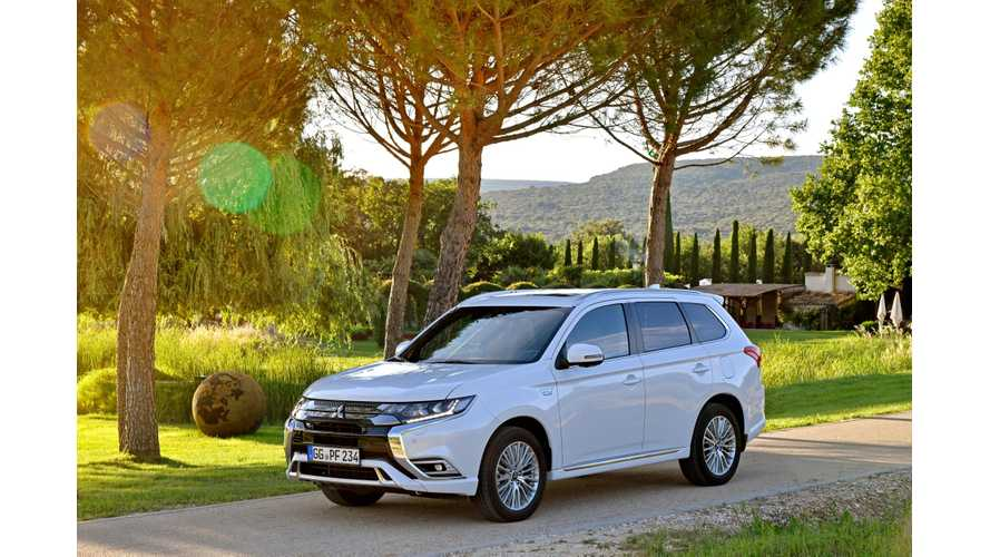 UK Remains Biggest European Market For PHEVs, Outlander PHEV Leads