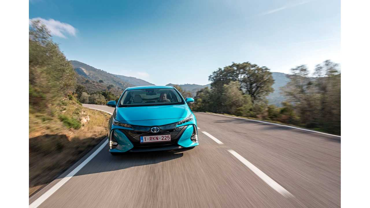 Toyota Prius Prime Accounts For Over 35% Of Total Prius Sales In U.S.