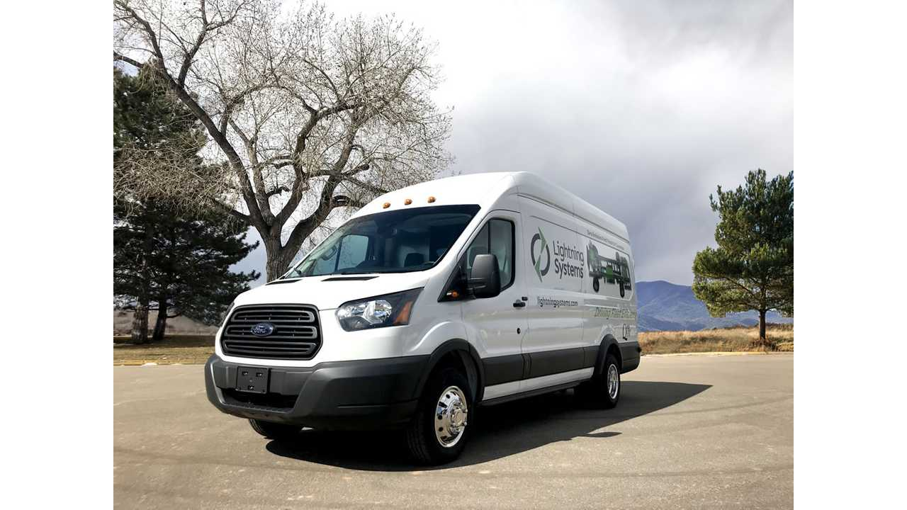 This Ford Transit Vans Gets Up To 66 MPGe, DC Fast Charges Too