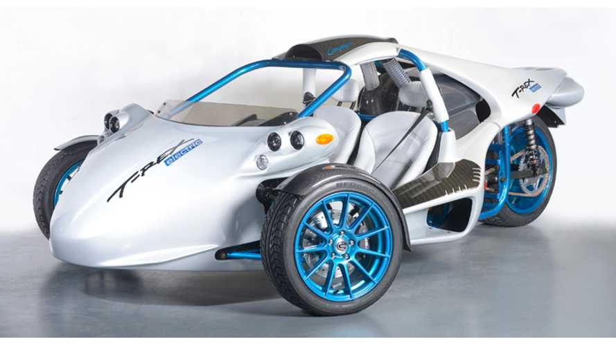 Zero Motorcycles-Powered Electric Trike Debuts As Campagna T-Rex