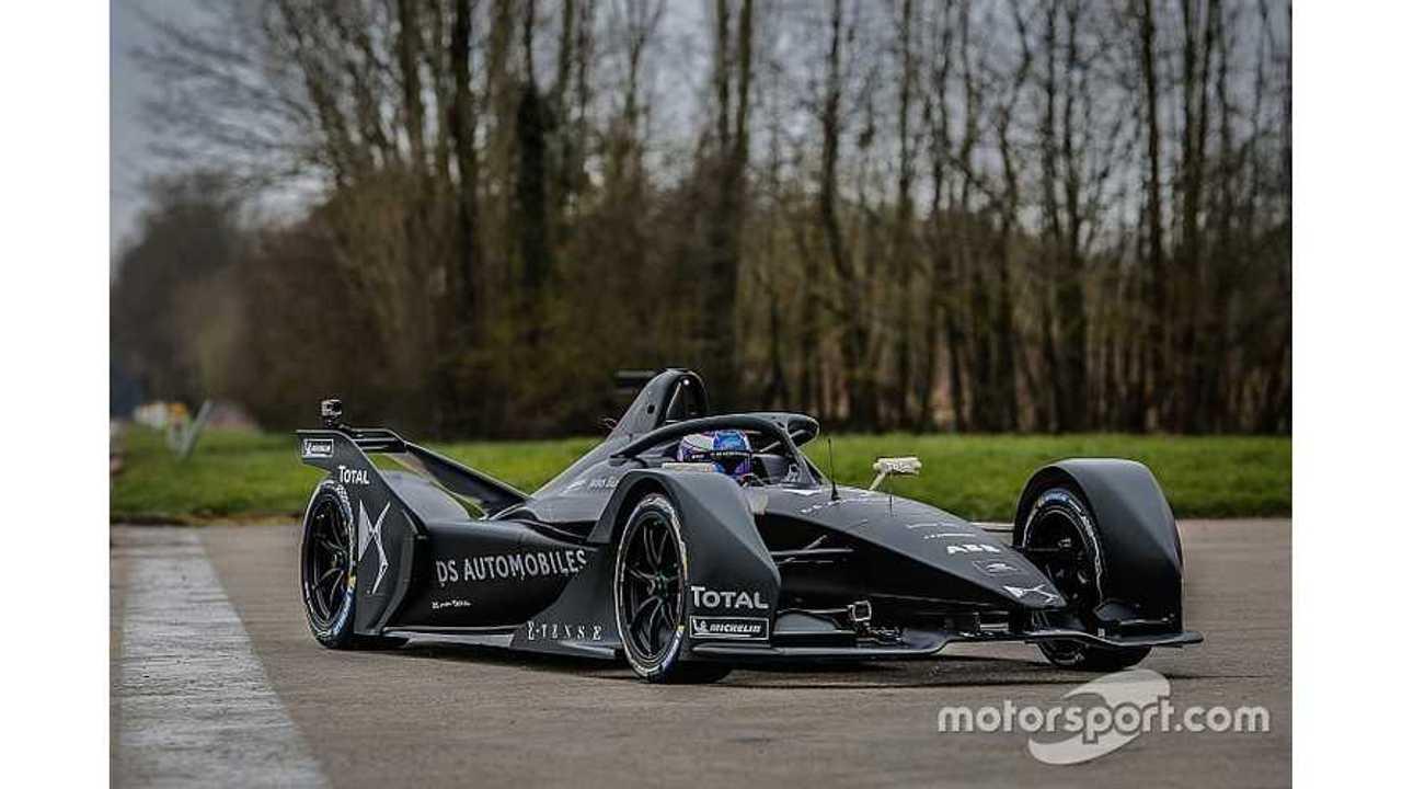 Formula E Gen 2 Race Car Called A